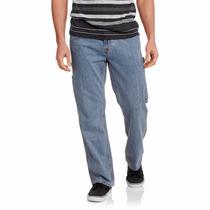 Pantalón Jeans Vaqueros Original Faded Glory Big Men