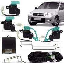 Kit Trava Elétrica Corsa Hatch Sedan Especifica Dedicada 4 P