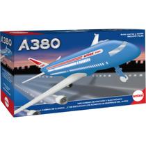 Avion A380 A Friccion Antex Con Luces Y Sonidos Mundo Manias