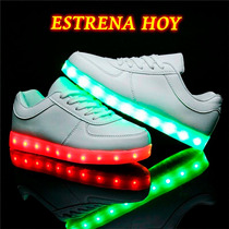 Tenis Led Zapatos Led Tenis Luminosos Hombre Mujer Shoe 2016
