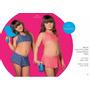 Malla Bikini Niña C/pollera Cocot 12583 T 6 Azul
