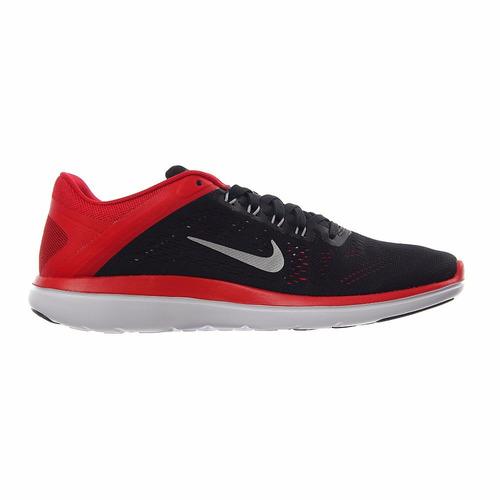 446585b2a69 Tenis Nike Flex 2016 Rn Run Negro-rojo 2016 Caballero -   1