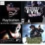 Resident Evil 2 + R. Evil 3 + Medal Of Honor Fl+ Manhunt Ps3