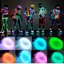 El Wire Tubo Flexible Neon Autos Motos Disfraces Tron