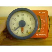 Radio Reloj Despertador Infantil