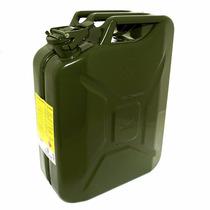 Galão Para Combustível 20l De Metal P/ Jeep, Barcos, Diesel