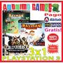 Rayman Legends + Rayman Origins + Call Of Juarez Ps3