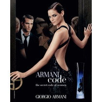 Divino Perfume Armani Code For Her 75ml Envio Gratis X Serex