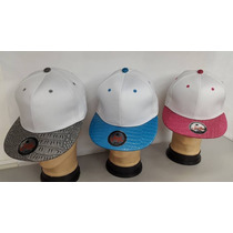 Gorras Planas Unicolor P/bordar Al Mayor 6pz