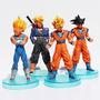 Dragon Ball Z Saga Majin Boo X 4 Unidades