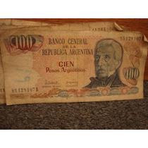 Billetes Antiguos 100 Cien Pesos Argentinos Lote De 23
