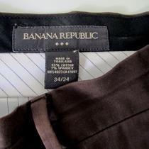 Pantalon Banana Republic 34/34 Marron Hombre