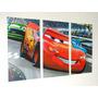 Cars - Poster Tríptico (40x60cm)