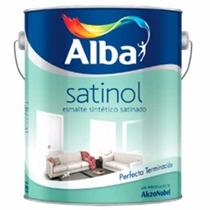 Esmalte Sintetico Satinado Satinol Alba X 4lts | Integradas