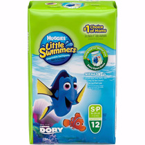 Pañales Para Agua Huggies Little Swimmers P 7 A 12kg X 12u