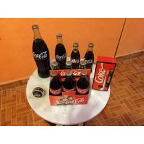 Coleccion De Coca Cola Cerradas Antiguas Radio Y Yoyo