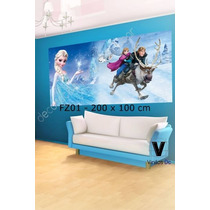 Foto Mural Disney Frozen - Decoracion Cuarto De Niñas