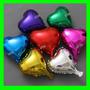 Balão Metalizado Coraçao 45cm