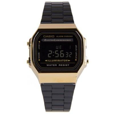 365347709072 Casio Retro A-168wegb Negro Unisex Acero 100% Original -   157.900 ...