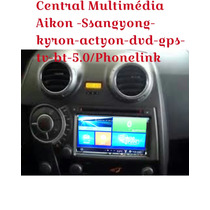 Kit Multimídia Ssangyong Kyron Actyon Dvd Gps Tv Bt 3g