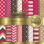 Kit Imprimible Pack Fondos Amor San Valentin Corazon Clipart