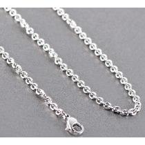 10 Cadenas Collar De Acero Inoxidable 3mm X 45cm
