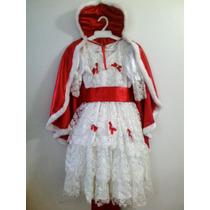 Disfraz De Reina Nuevo Con Capa Incluida. Para Carnaval.