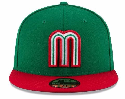 65d67531524ab Gorra New Era Mexico 2017 World Baseball Classic 59fifty ...