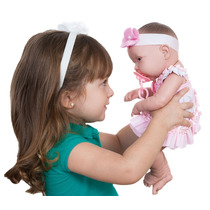 Boneco Baby Ninos Igual Um Bebê De Verdade Cherinho De Talco