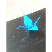 Origami Tsuru 100 Unidades De 10 Cm Cada Coloridos