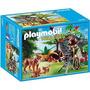 Retromex Playmobil 5561 Familia D Linces Y Camarografo Zoo