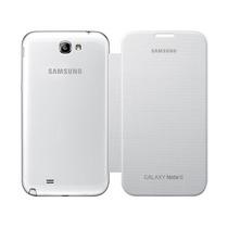 Samsung Galaxy Note 2 N7100 Flip Cover Color Blanco