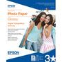 Epson Papel Fotografico Tama¤o Carta 20 Hoj