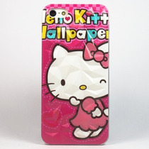 Funda Hello Kitty 3d Case Efecto Para Iphone 5 5s Se