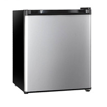 Frigobar Hisense 1.6 Pies Cubicos Plata Mini Refrigerador