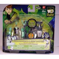 Ben 10 Alien Creación Cámara Mini Figura 2-pack De Diamante