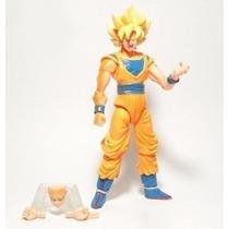 Dragon Ball Z Son Goku Super Sayajim 1 Totalmente Articulado