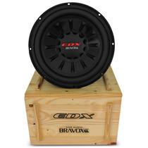 Subwoofer Bravox Edx 12d-4 12 Polegadas 1500w Rms 2x4 Ohms