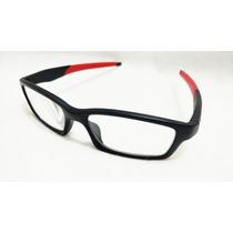 Armacao Esporte Oculos Grau Masculino Hastes Flexivel + Case