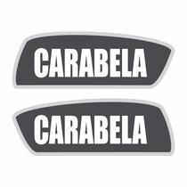 Sticker - Calcomania - Vinil - Carabela 100 Mini