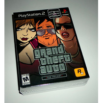 Grand Theft Auto: The Trilogy Original Lacrado - Ps2