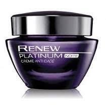 Avon Renew Platinum Creme Anti-idade Noite, 50g
