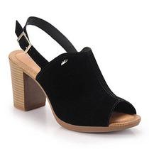 Sandália Salto Feminina Dakota - Preto