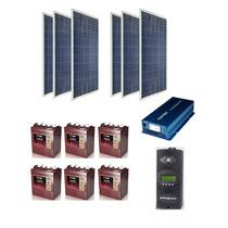 Planta Generador Solar Fotovoltaica 1500w Alta Calidad