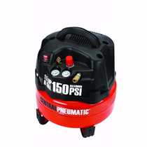 Compresor De Aire De 6 Gal. 1.5 Hp 150 Psi