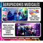 Barra Cocteles Sonido Minitk Luces Pantallas Grupo Musical