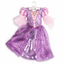Disfraz Vestido Rapunzel Enredados Disney Store Talles