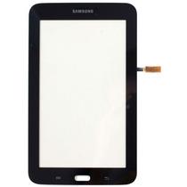 Tela Touch Sm-t110 Samsung Galaxy Tab 3 Lite Preto C/ Cola