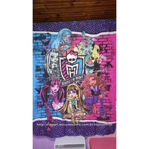 Leia O Anúncio! Cortina Monster High Varão Simples Inteira