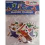 Foamy Dragon, Calcomania Manualidad Cotillon Navidad
